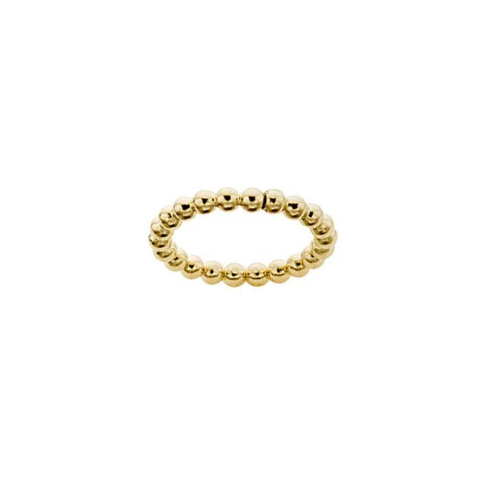 Beaded ring 2mm // Goldfilled