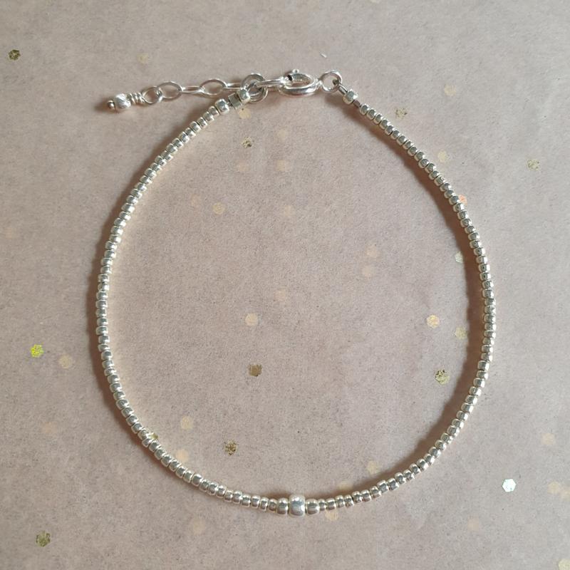 Armband Plain // Silver