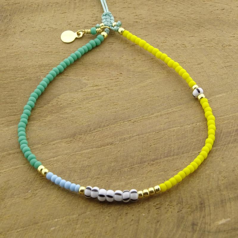 Billie // Yellow Turquoisegreen
