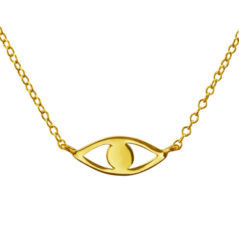 I See You necklace // Gold-plated 925 silver