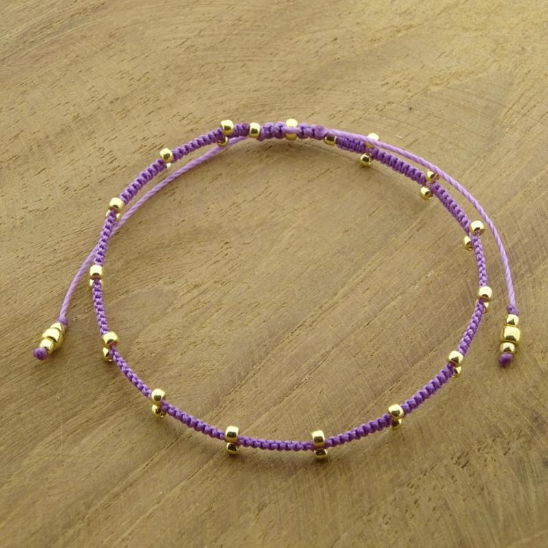 2 Dots  // Lilac Gold
