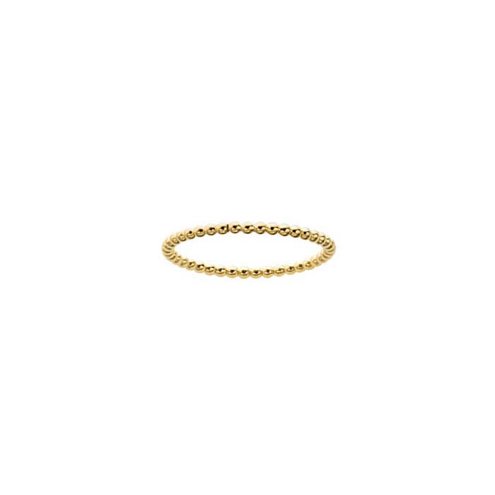 Beaded ring 1,5mm // Goldfilled