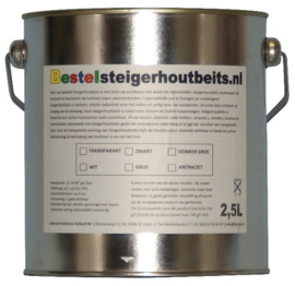 Steigerhoutbeits Transparent Wash 2,5L