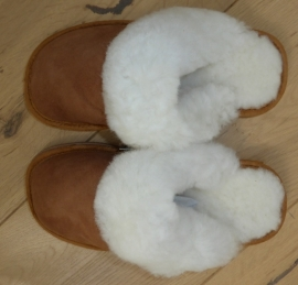 Dames slipper 100% schapenwol