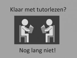 Klaar met tutorlezen? Nog lang niet! Stap 6
