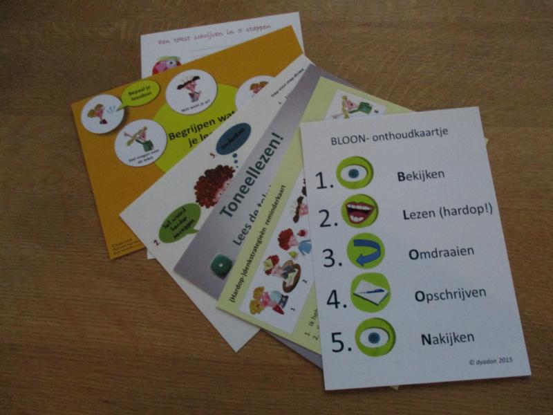Set taalhulpkaarten