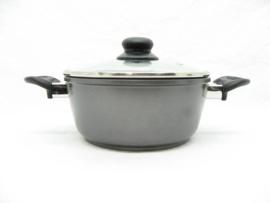 Braadpan / kookpan 20 cm met zwarte keramische laag