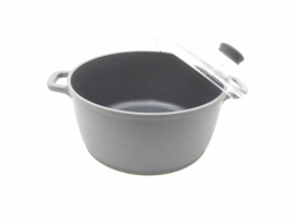 Braadpan / kookpan 24 cm met antikleeflaag