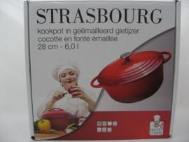 Gietijzeren braadpan 28 cm Strasbourg