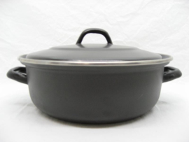 Emaille braadpan 28 cm