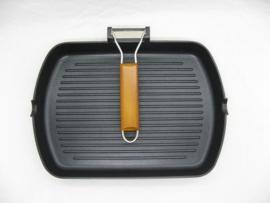 Grillpan Inductie 24x34 cm