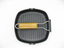 Grillpan Inductie 20x20 cm