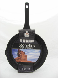 Koekenpan 28 cm Stoneflex