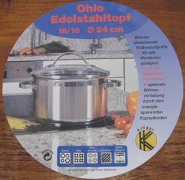 Kookpan 24 cm Ohio