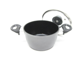 Braadpan / kookpan 16 cm met zwarte keramische laag