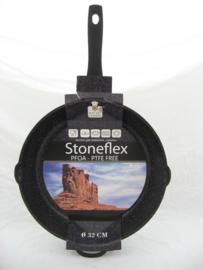 Koekenpan 32 cm Stoneflex