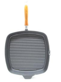 Gietijzeren grillpan 28x28 cm, Rustica