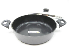 Braadpan met zwarte keramische laag 28 cm