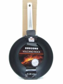 Wok 28 cm Rock line Vulcano