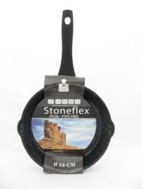 Koekenpan 24 cm Stoneflex