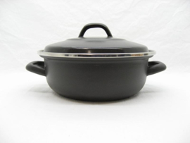 Emaille braadpan 24 cm