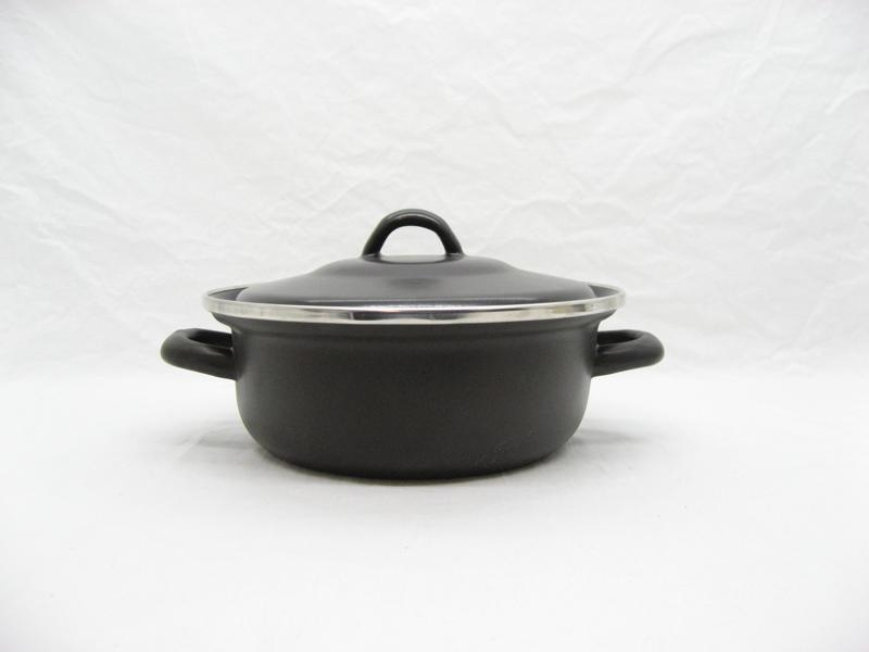 Emaille braadpan 20 cm