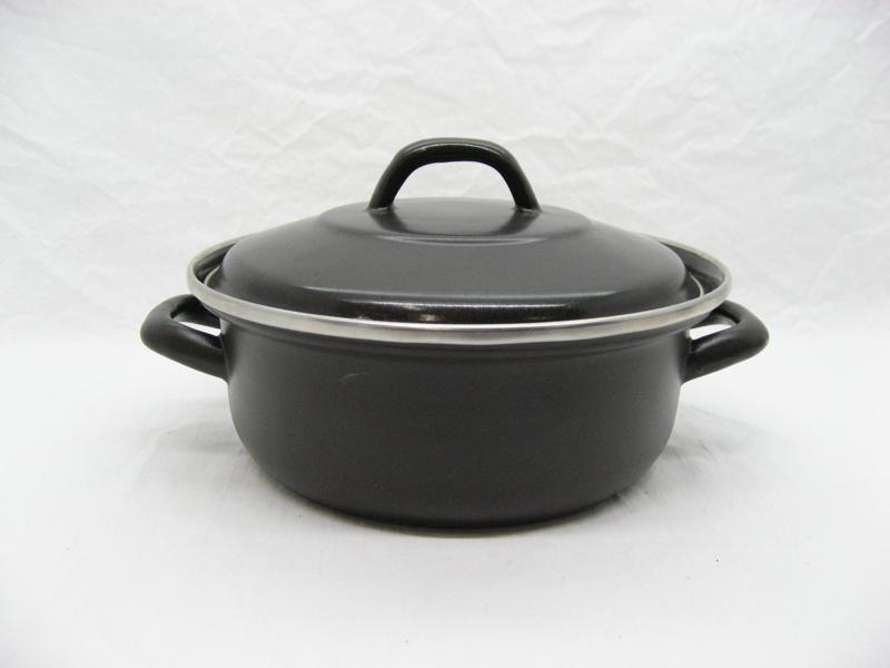 Emaille braadpan 22 cm