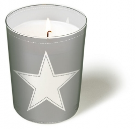 Kaars Star Silver