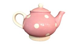 Theepot Stip Roze - Kitchen Trend Products