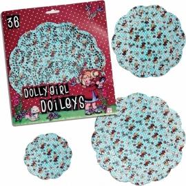 Onderleggers Dolly Girl - Dotcomgiftshop