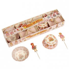 Cupcake Set DressUp Dolly - Dotcomgiftshop