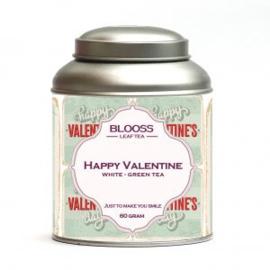 Happy Valentine - witte/groene thee - Blooss