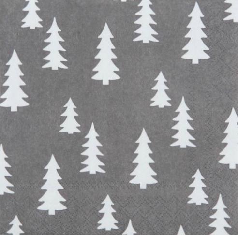 Servetten Kerstboom - Clayre & Eef
