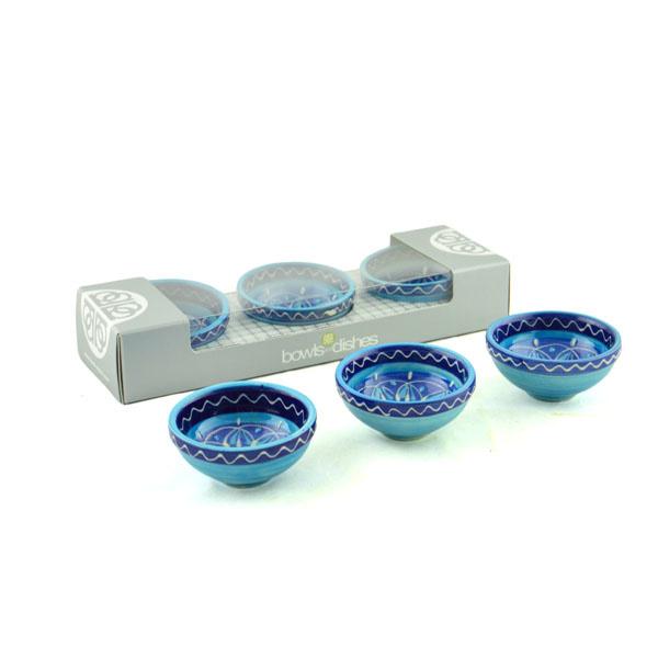 Azora schaaltjes 10 cm (set van 3 stuks) - Bowls and Dishes