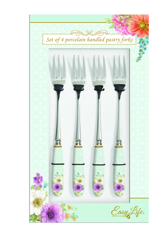 Gebaksvorkjes Cottage Flowers - Easy Life