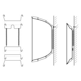 Bordenhanger 'Small' Ø 16-22 cm