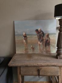 Kinderen der zee op hout