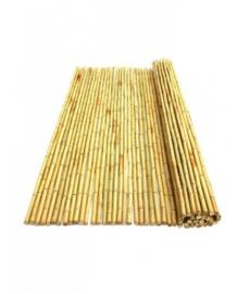 Bamboemat Geel