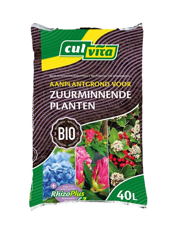 Aanplantgrond voor zuurminnende planten zak 40 ltr.