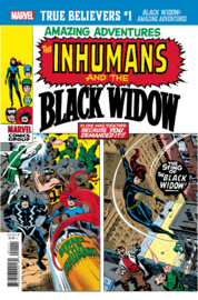 Amazing Adventures: Inhumans & the Black Widow