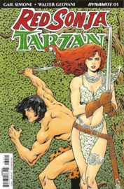 Red Sonja/ Tarzan  3