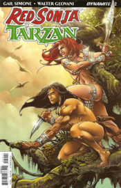 Red Sonja/ Tarzan  2