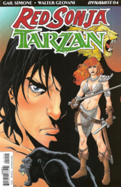 Red Sonja/ Tarzan  4