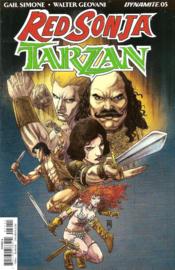 Red Sonja/ Tarzan  5