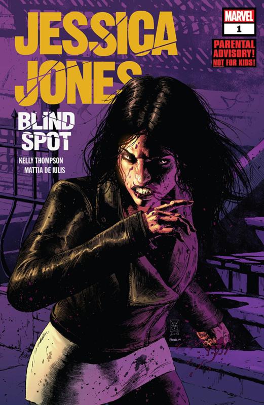 Jessica Jones: Blind Spot  1