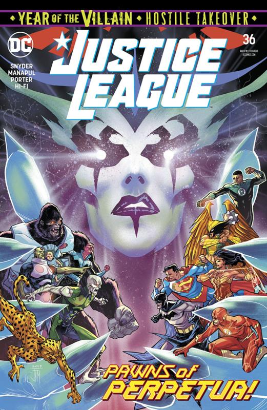 Justice League (2018-) 36