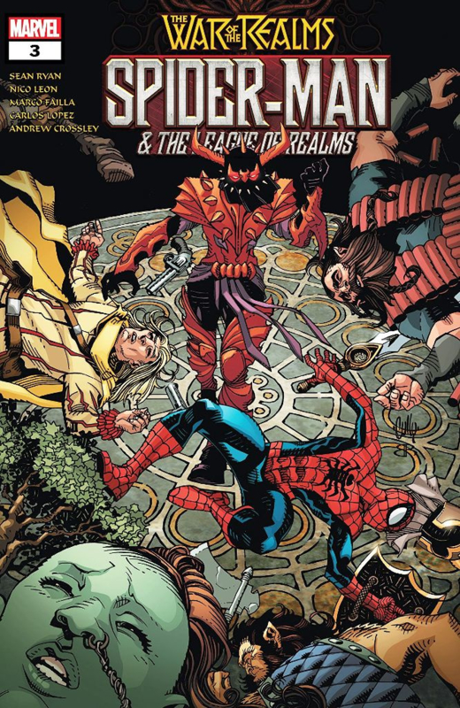 Spider-Man & The League of Realms  3