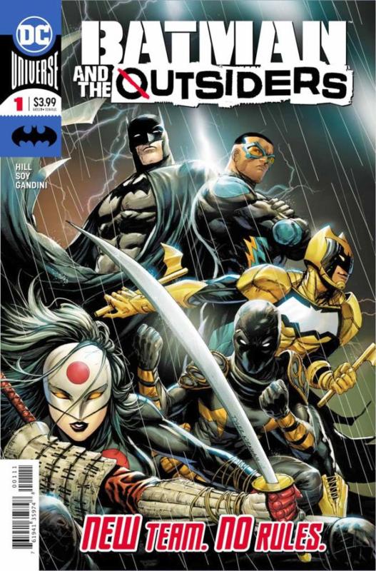 Batman & The Outsiders (2019-)  1
