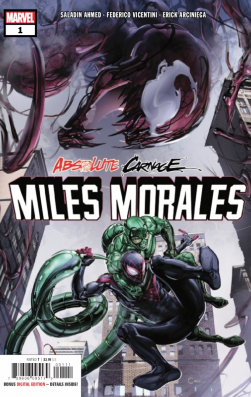 Absolute Carnage: Miles Morales  1