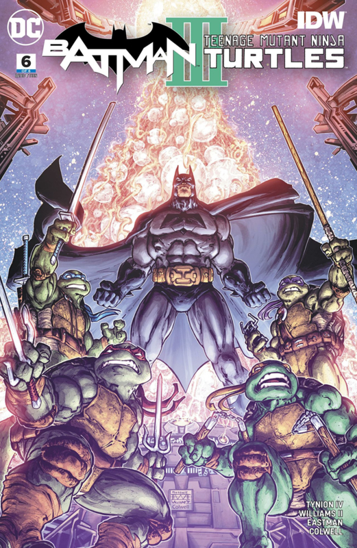 Batman/ Teenage Mutant Ninja Turtles III  6